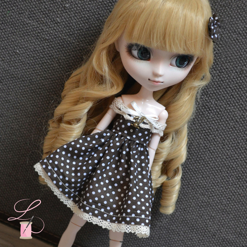 LullaCréation - robes pour Monster high, Pullip, Hujoo Post6310