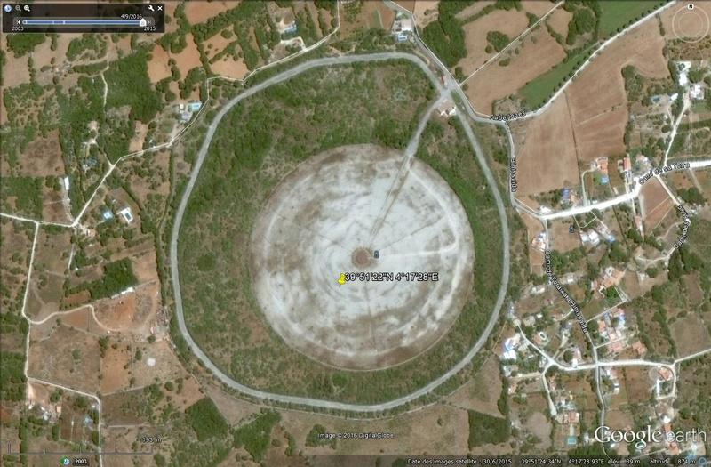 Zone floutée à Minorque - Espagne Minorq10