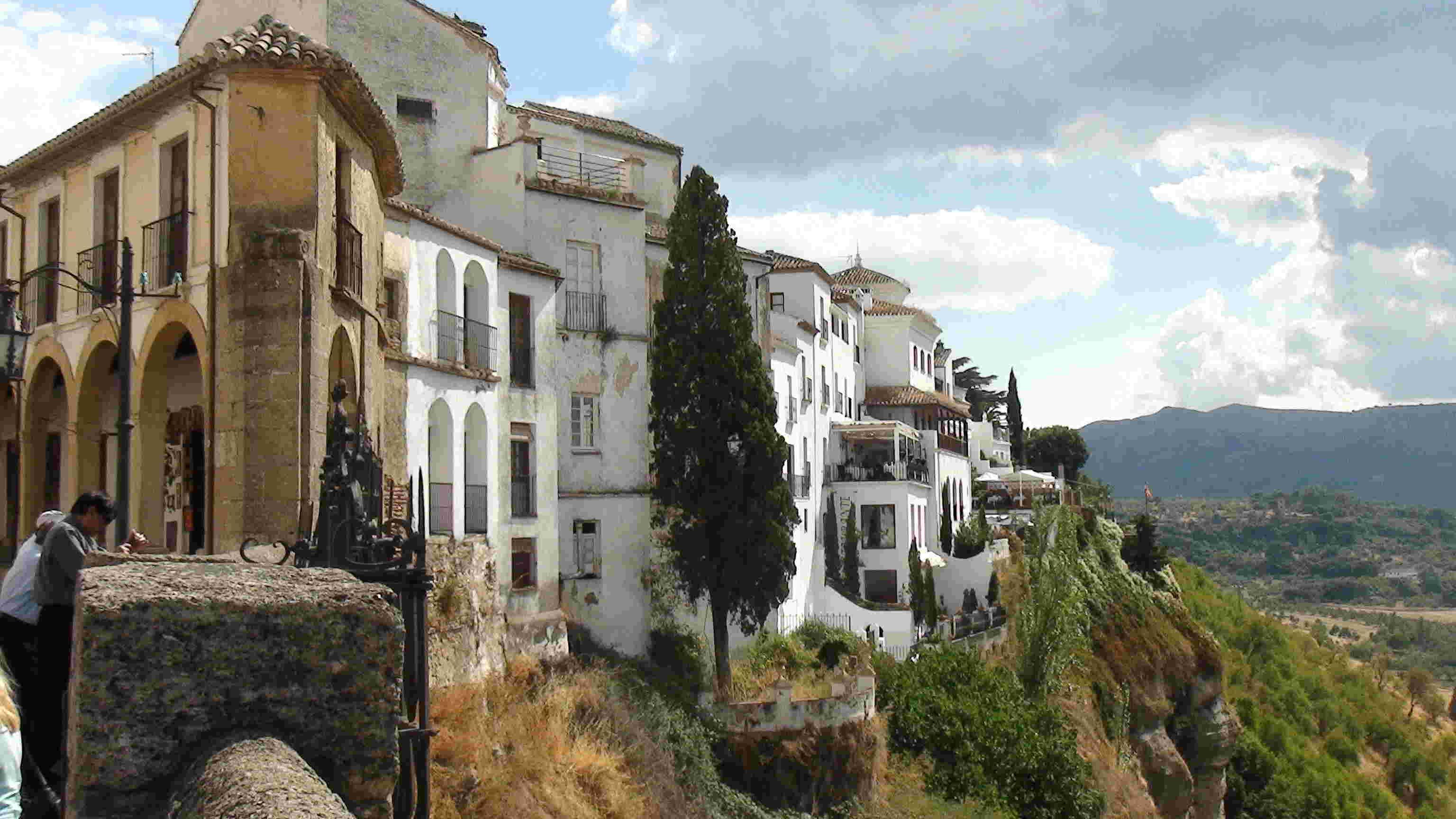 Ronda, village au bord d'un précipice - Espagne. Ronda111