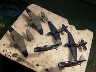 SB2C Curtiss Helldiver 1/350 trumpeter Sb2c_710