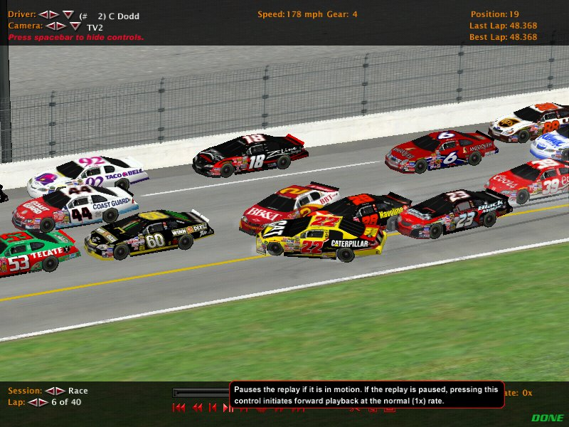 DIRS Season 2 Race 2 @ Daytona. Nr200311