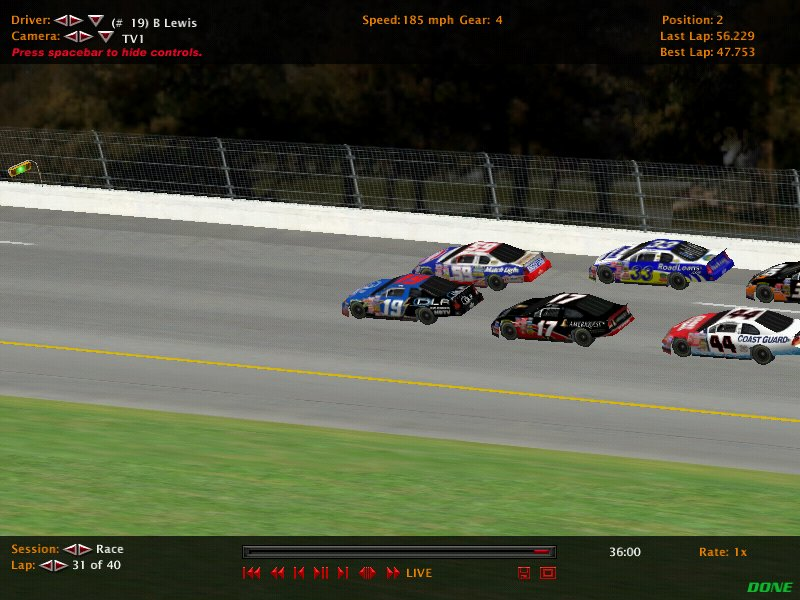 DIRS Season 2 Race 2 @ Daytona. Nr200312