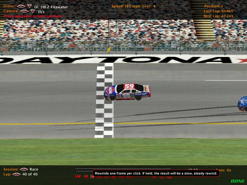 DIRS Season 2 Race 2 @ Daytona. Nr200315