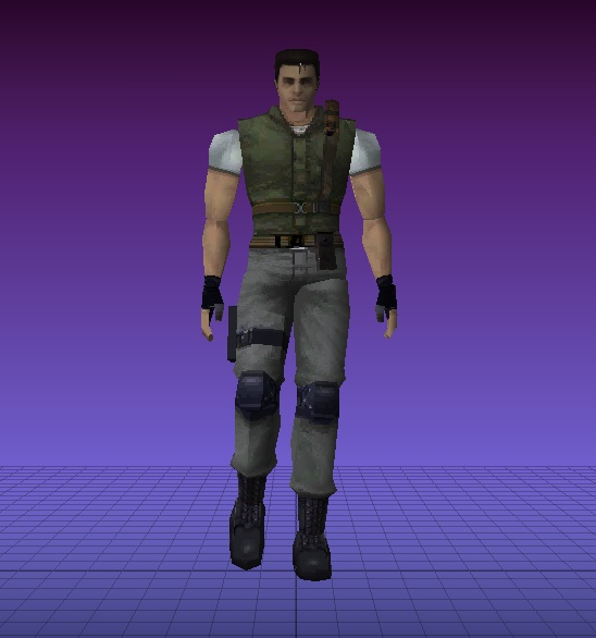 "Chris of RE6 ""Mercenaries"" Re610"