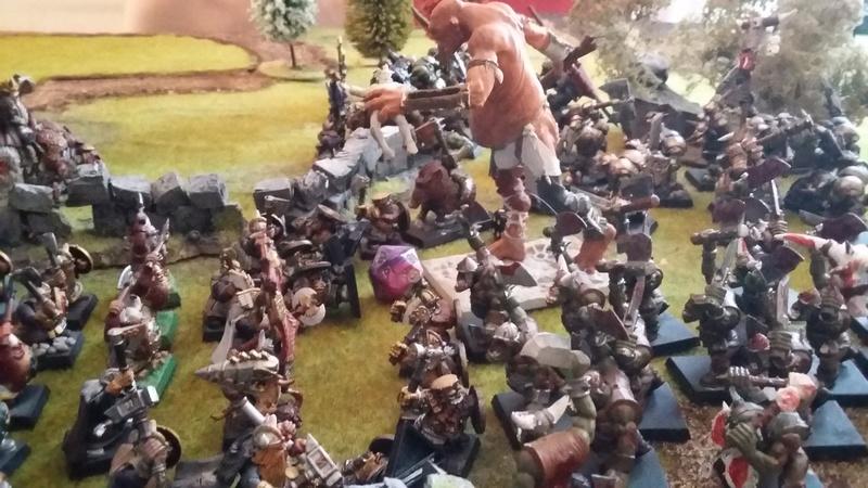[rapport de bataille 1500pts] NAIN VS ORC 20161018