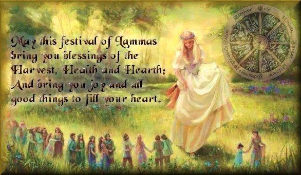 Lughnasadh or Lammas -  August 2nd. Lammas10