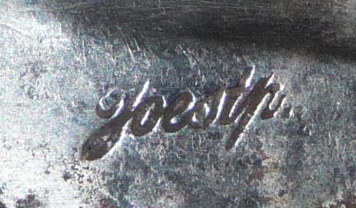 """Sabre briquet signé """"Joestp."""" 00211"""
