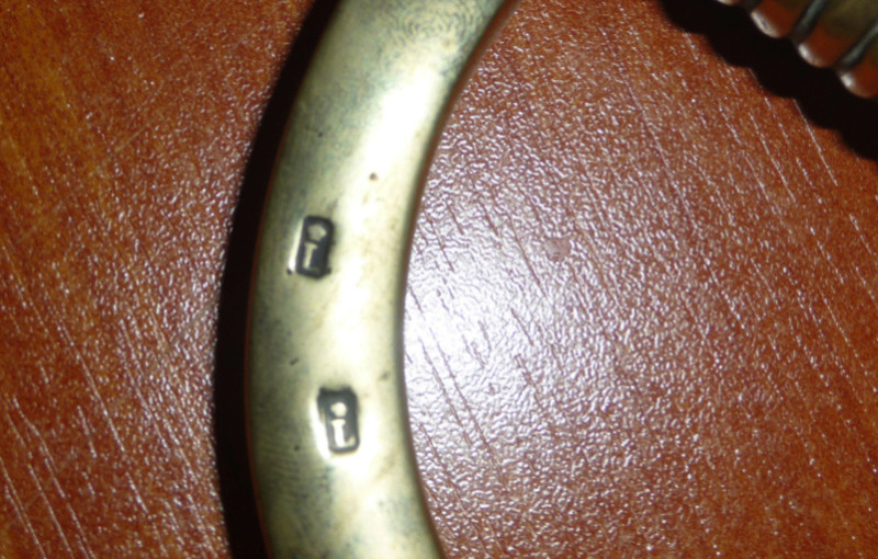 """Sabre briquet signé """"Joestp."""" 00311"""