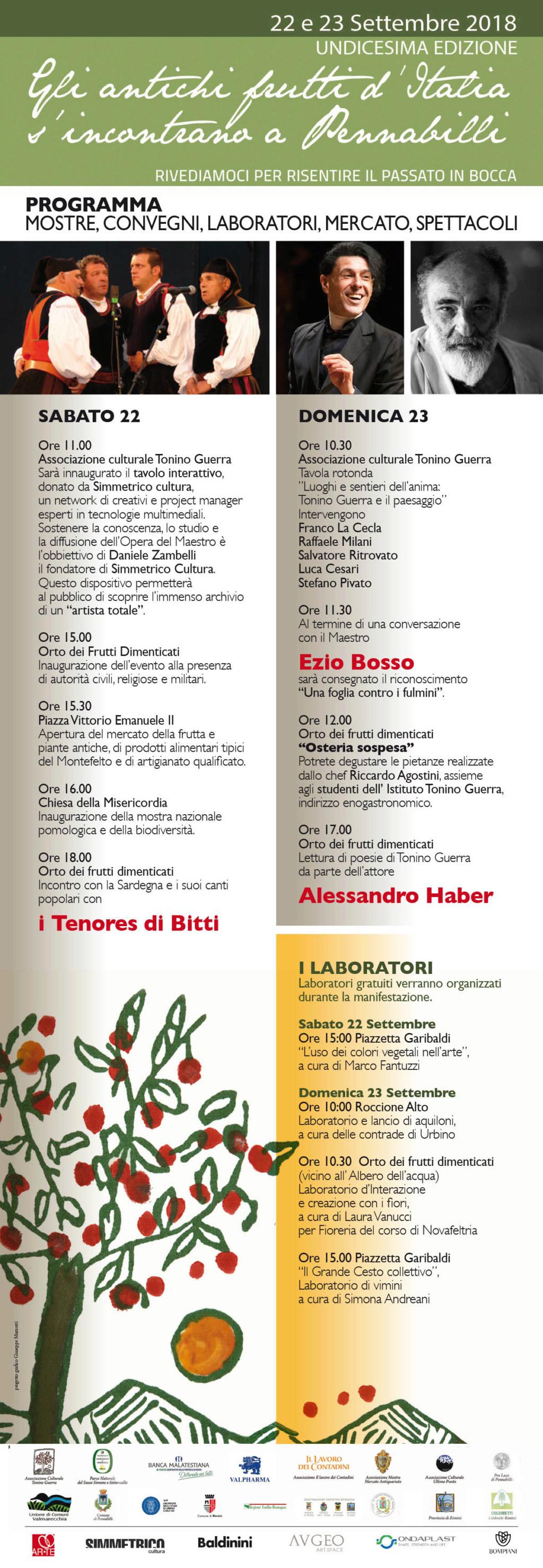 GLI ANTICHI FRUTTI D'ITALIA S'INCONTRANO A PENNABILLI Locand11