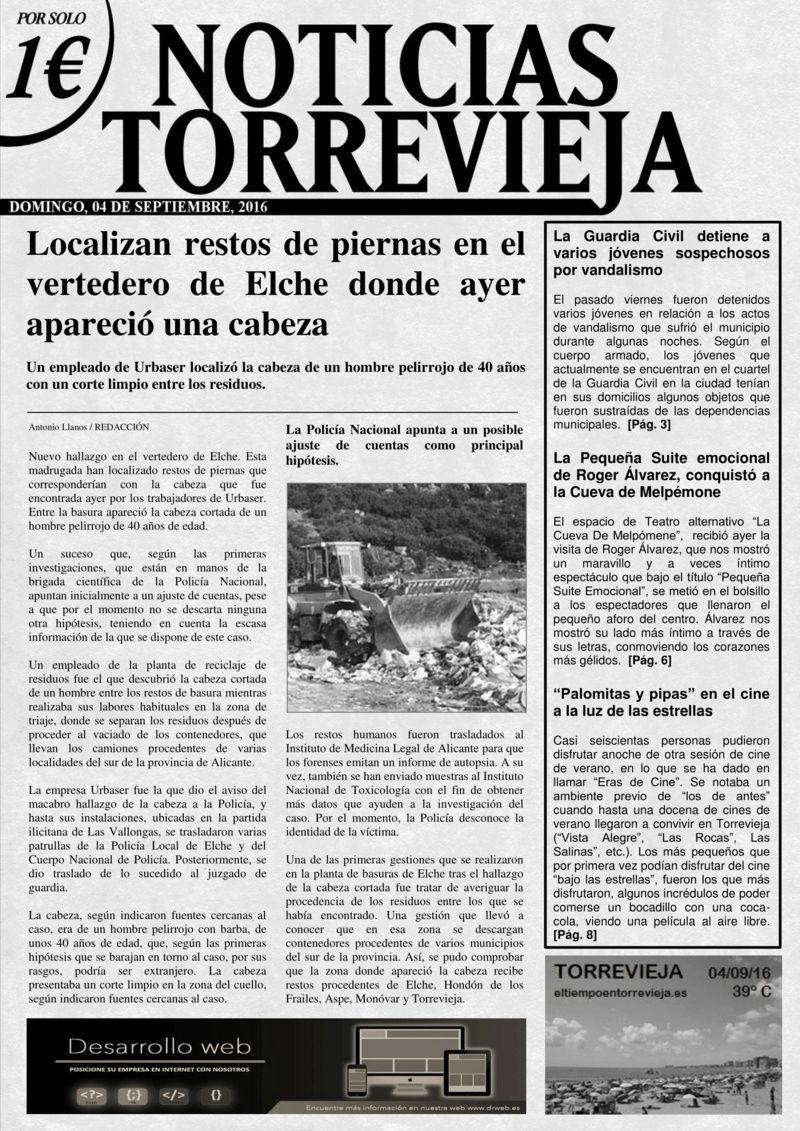 'Noticias Torrevieja' - 04/09/2016 Torrev10