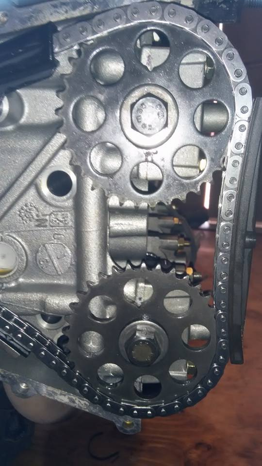 Timing chain mark Cam_sp10