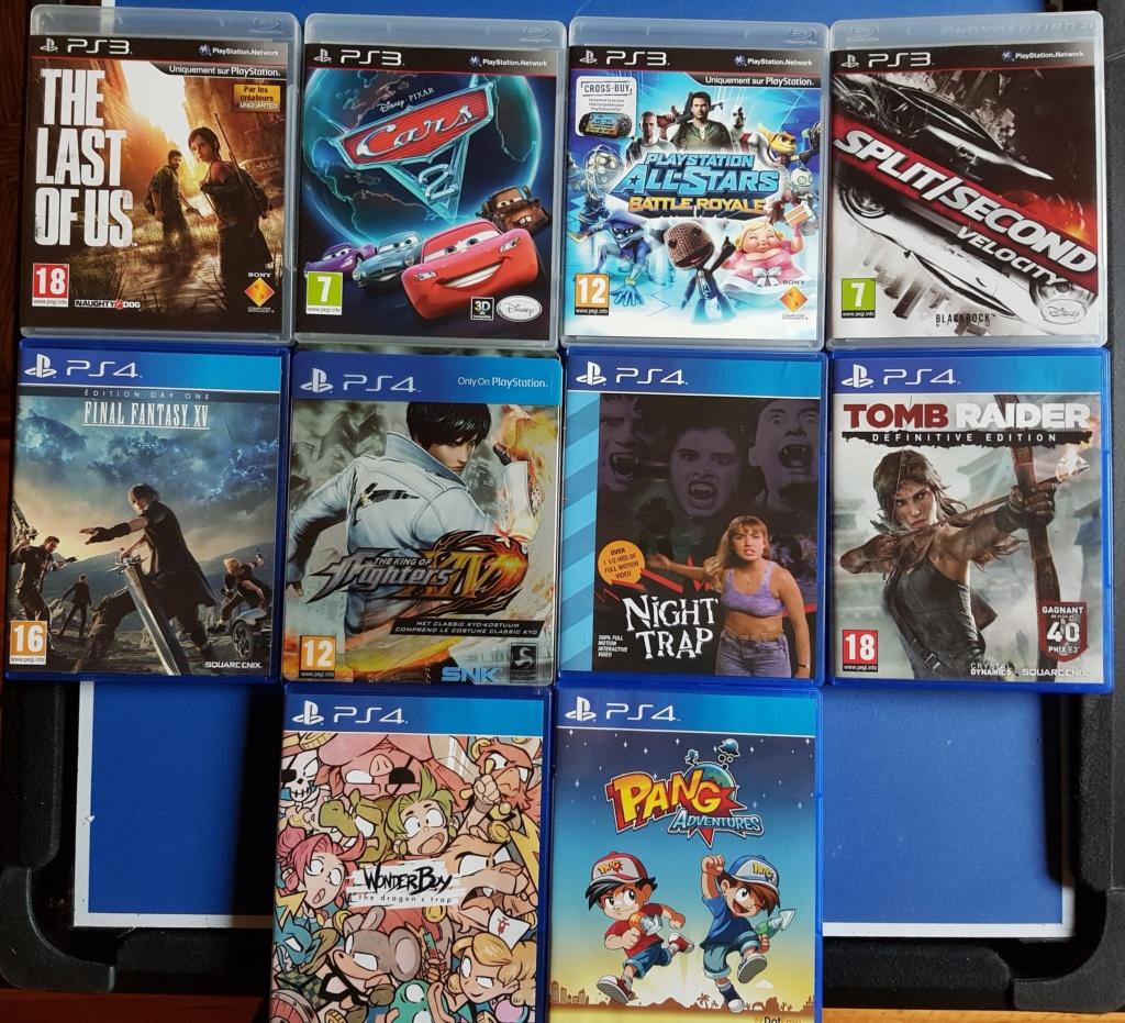[VDS] Grosse vente Sega, Nintendo, Sony (LE TOUT 1000€) 20190342