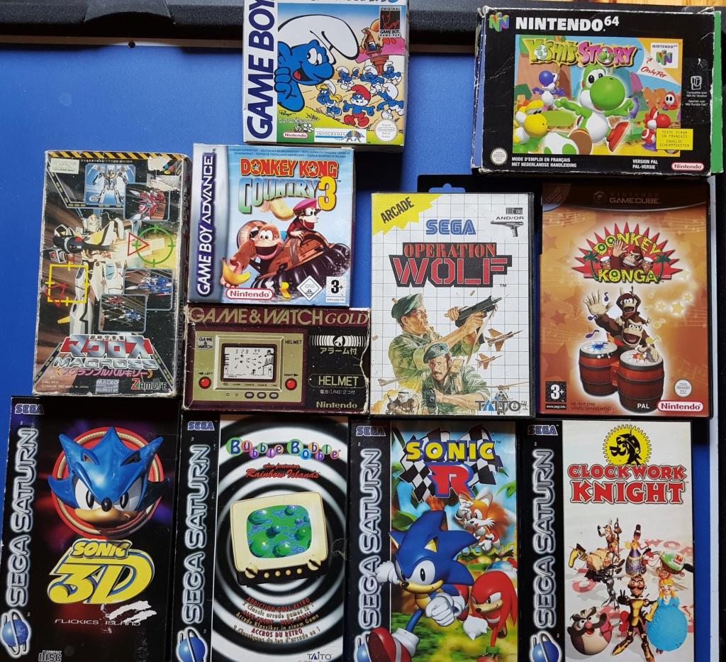 [VDS] Grosse vente Sega, Nintendo, Sony (LE TOUT 1000€) 20190348