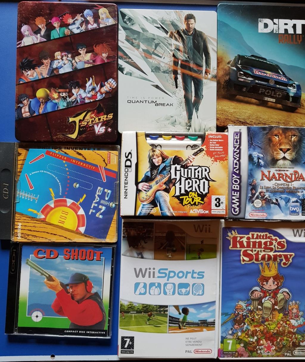 [VDS] Grosse vente Sega, Nintendo, Sony (LE TOUT 1000€) 20190350
