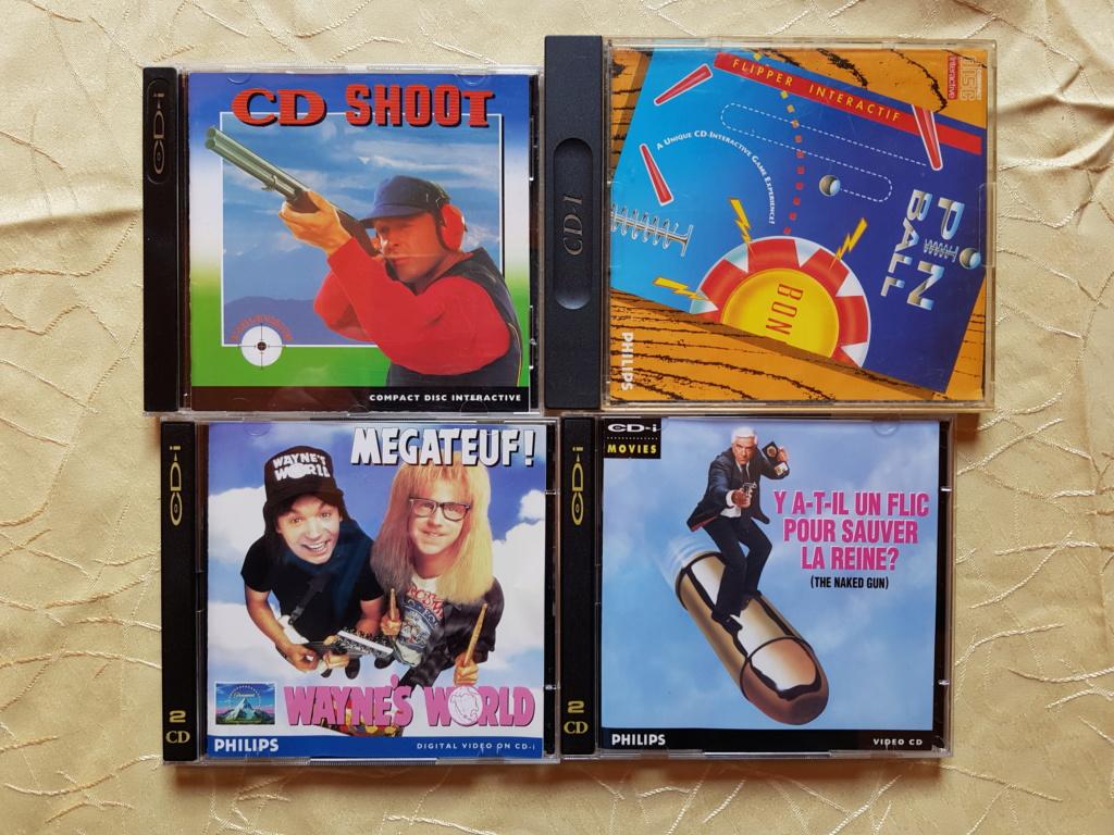 [ACH] Jeux atari jaguar, jeux philips CDI, jeux nec turbografx, jeux amiga cd 32 et jeux neo geo cd us 20200510
