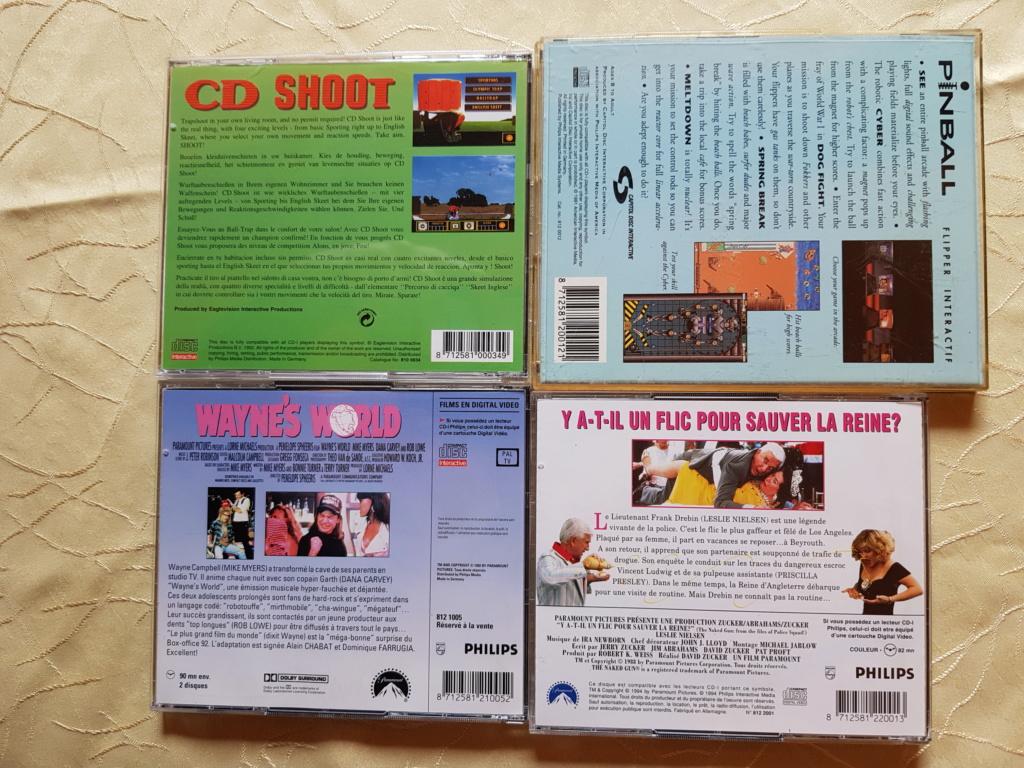 [ACH] Jeux atari jaguar, jeux philips CDI, jeux nec turbografx, jeux amiga cd 32 et jeux neo geo cd us 20200511
