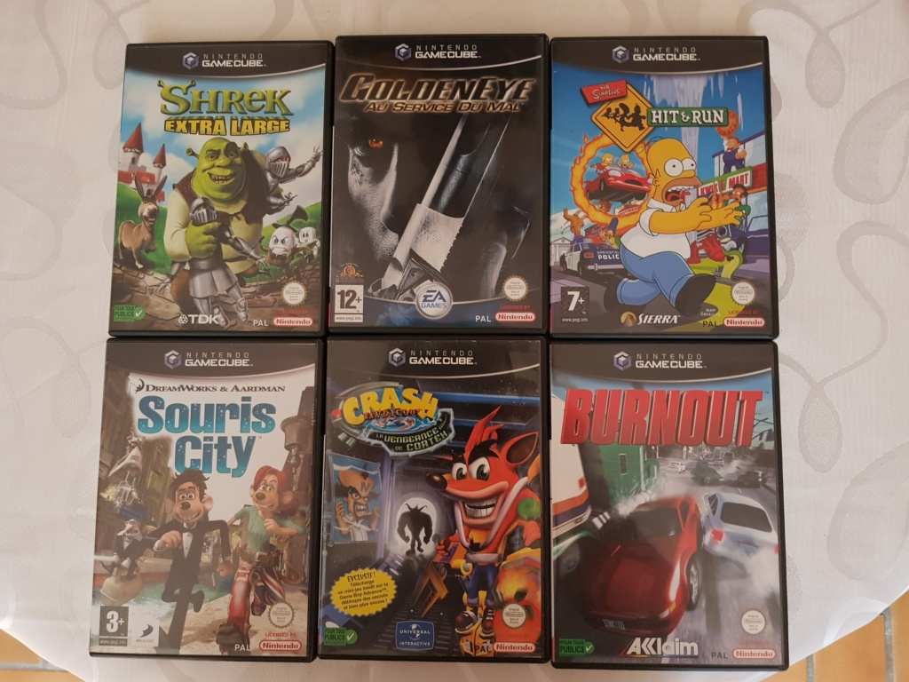 [ACH] Jeux Game Cube, Pack Game Cube, Accessoires GameCube 20200811