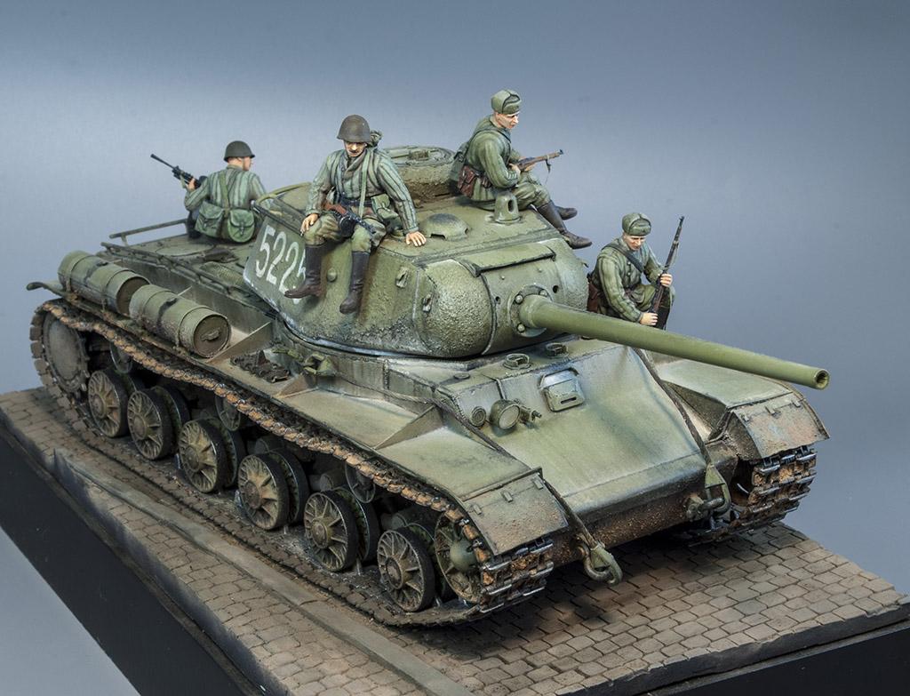 КВ-85 апрель-май 1944г. Крым. 1011