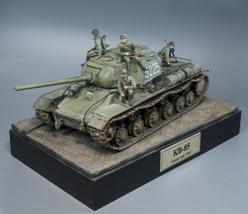 КВ-85 апрель-май 1944г. Крым. 1111