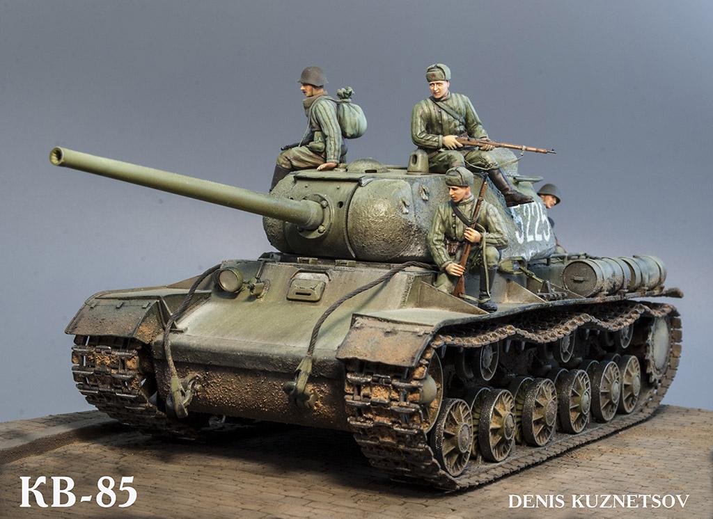 КВ-85 апрель-май 1944г. Крым. 112