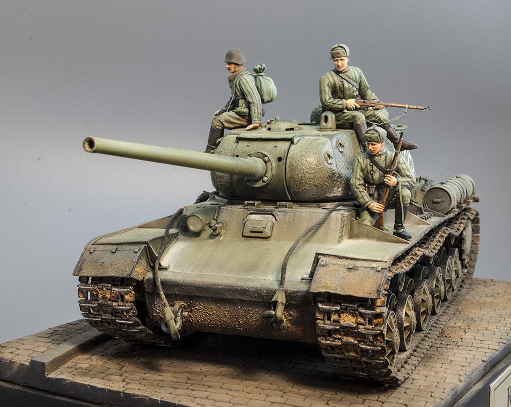 КВ-85 апрель-май 1944г. Крым. 214