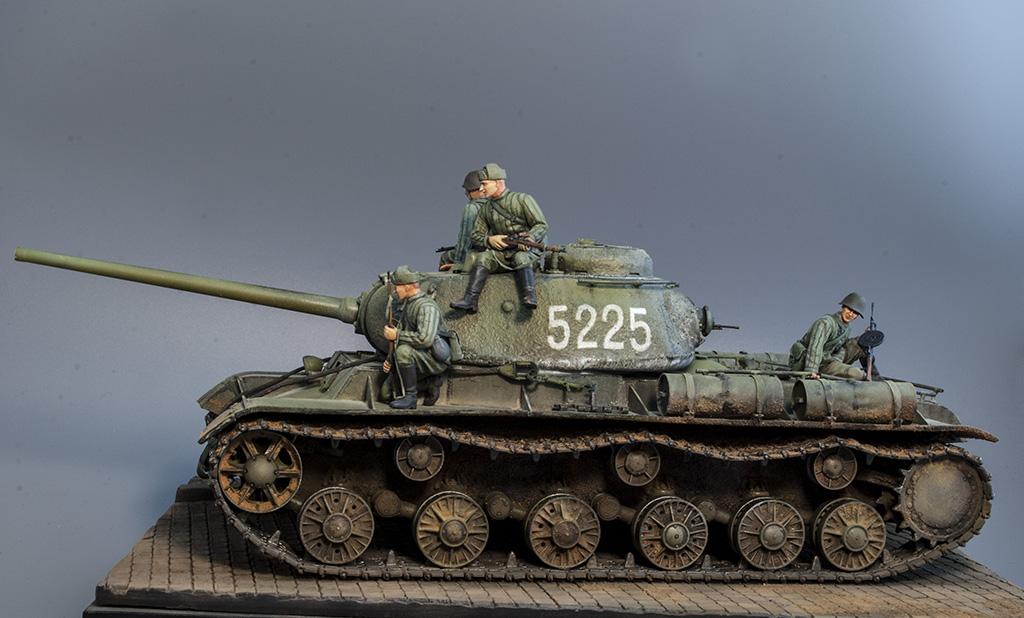 КВ-85 апрель-май 1944г. Крым. 311
