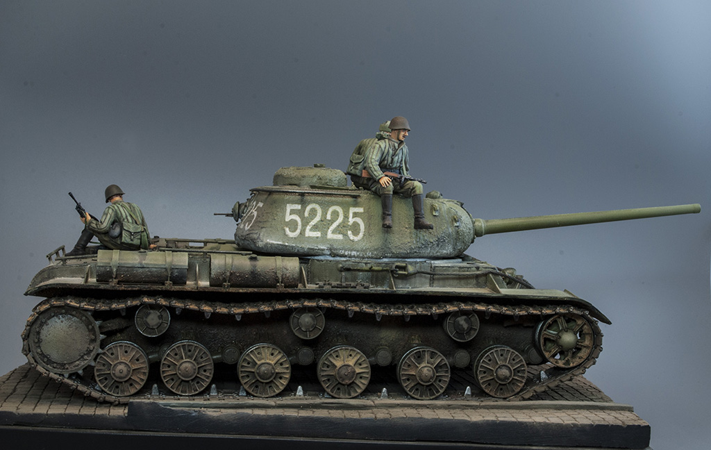 КВ-85 апрель-май 1944г. Крым. 511
