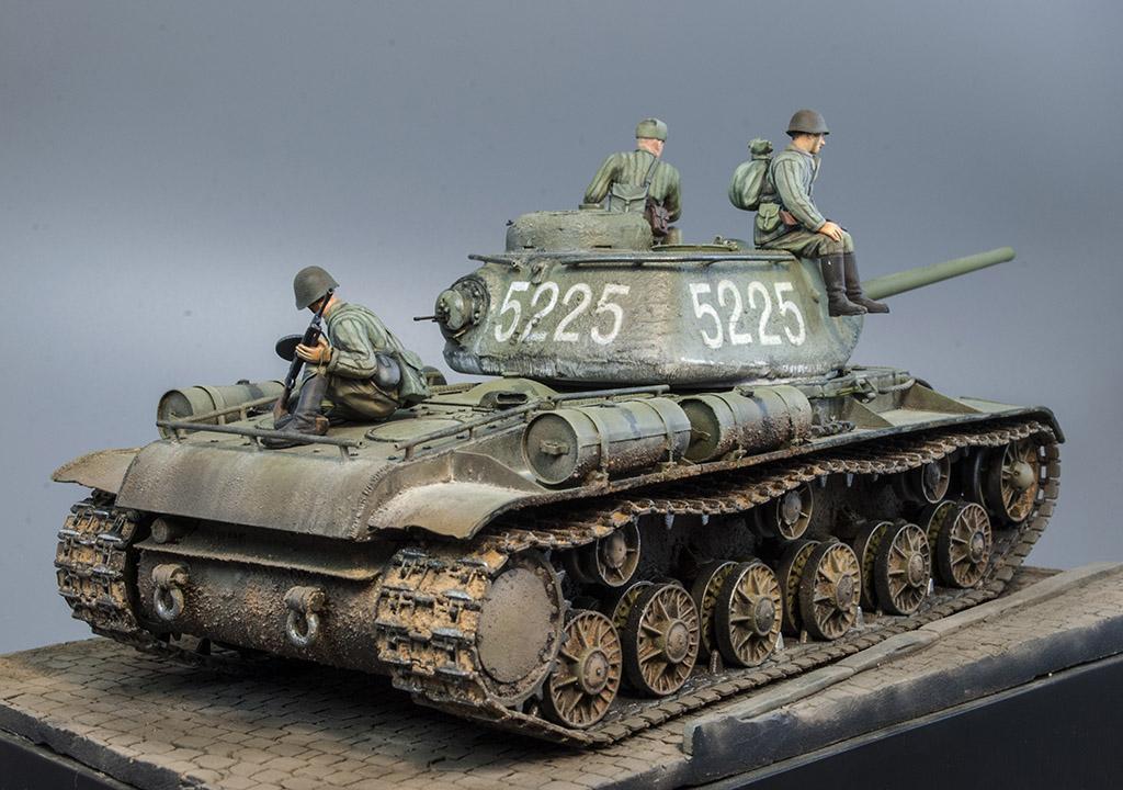 КВ-85 апрель-май 1944г. Крым. 611