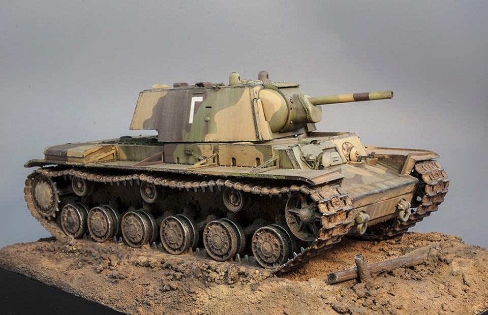 КВ-1 Ленинградский фронт 1942г - Страница 3 710