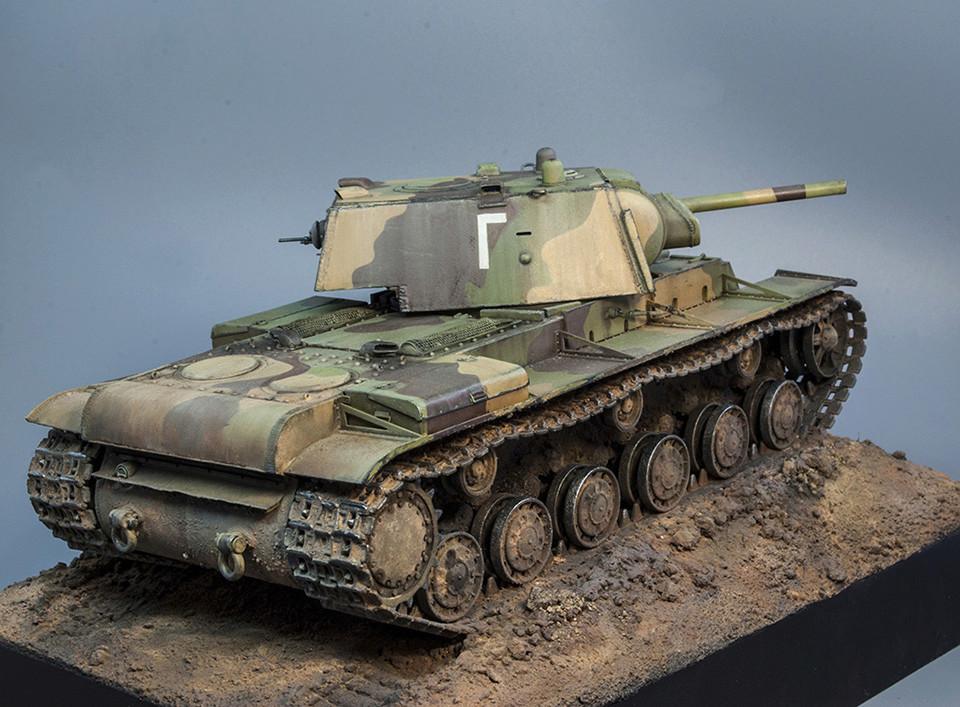 КВ-1 Ленинградский фронт 1942г - Страница 3 910
