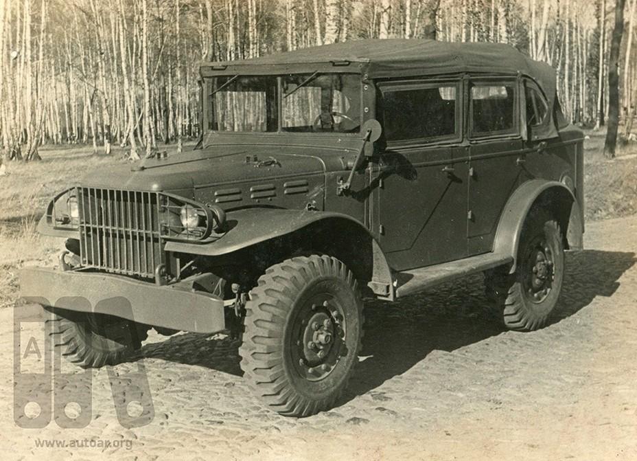 Додж WC-51 в советском варианте _008-b10
