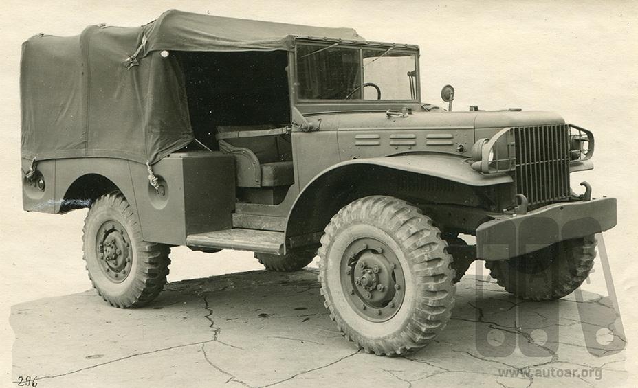 Додж WC-51 в советском варианте _020-410