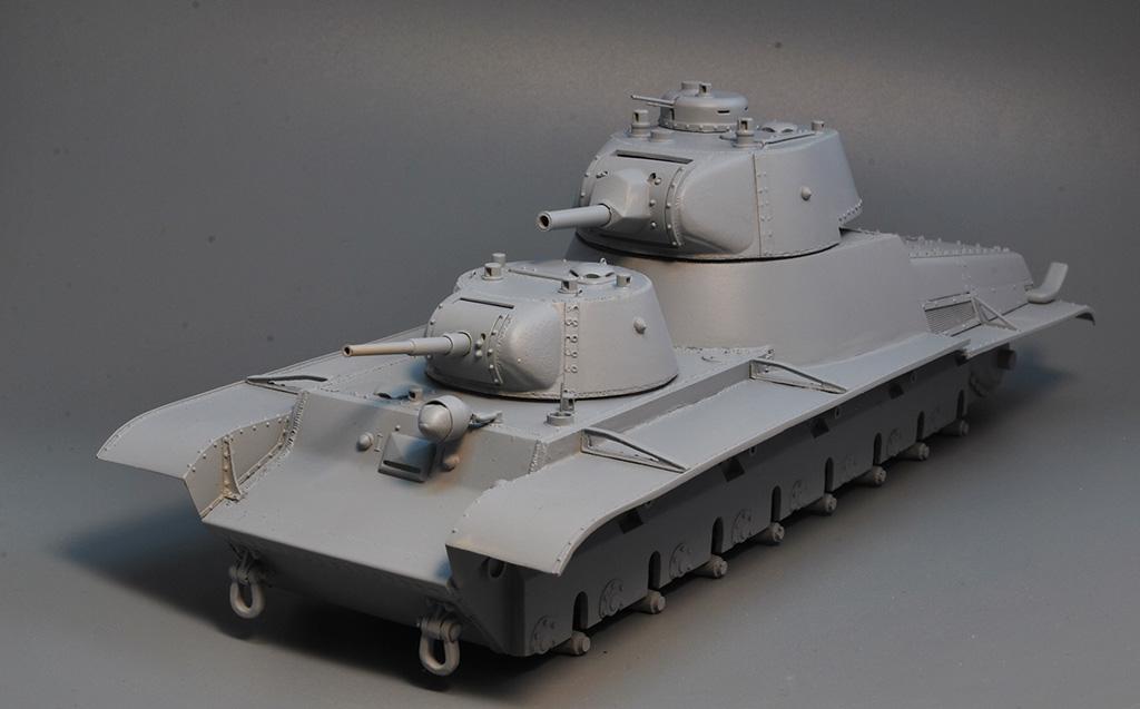 Т-100 Сталинский бронемонстр - Страница 3 Dsc_1420