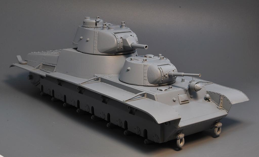 Т-100 Сталинский бронемонстр - Страница 3 Dsc_1421