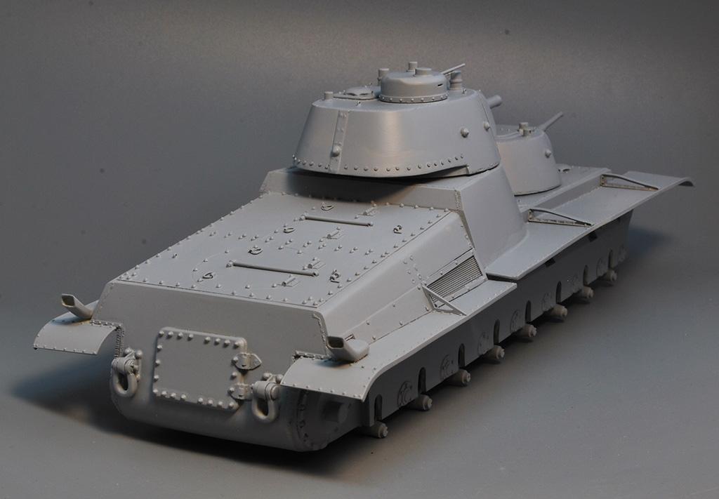 Т-100 Сталинский бронемонстр - Страница 3 Dsc_1422
