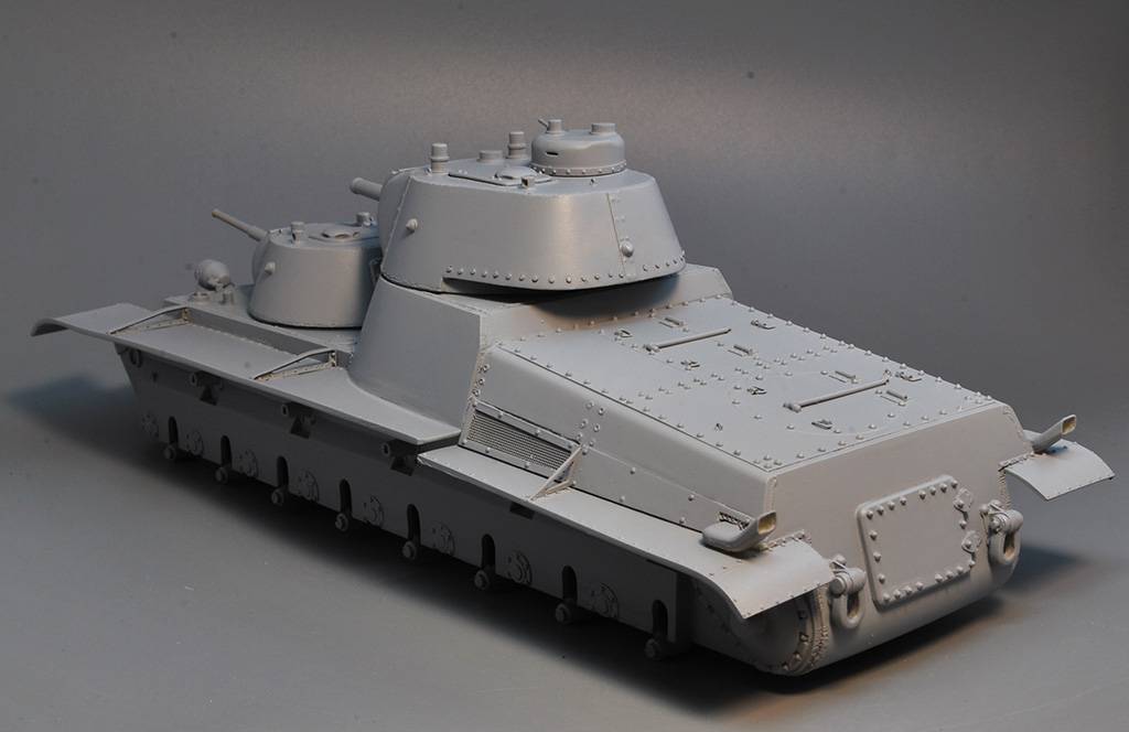 Т-100 Сталинский бронемонстр - Страница 3 Dsc_1423