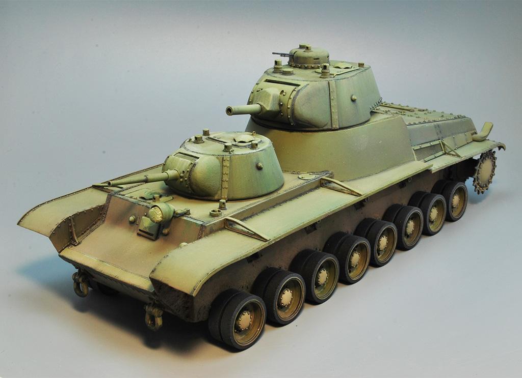 Т-100 Сталинский бронемонстр - Страница 3 Dsc_1436