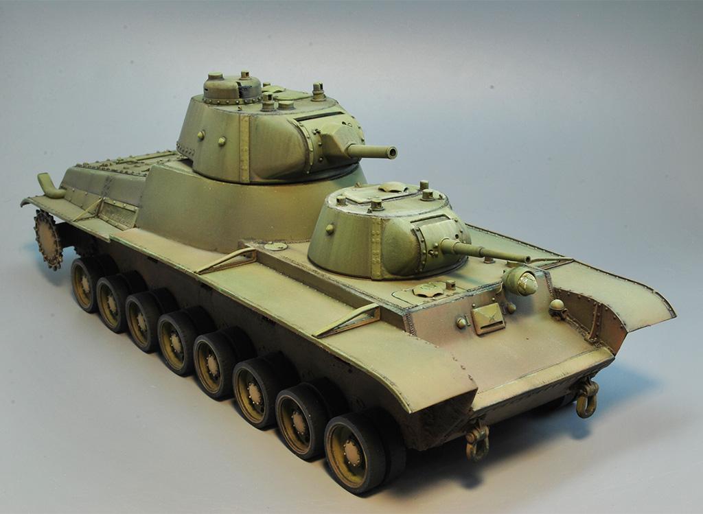 Т-100 Сталинский бронемонстр - Страница 3 Dsc_1437