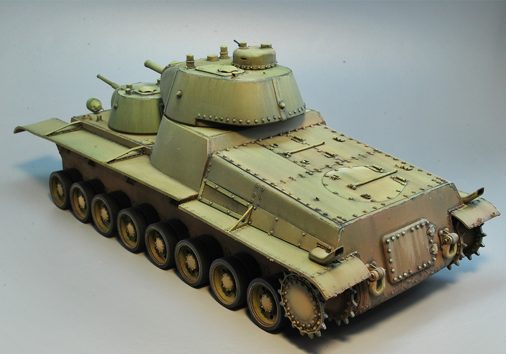 Т-100 Сталинский бронемонстр - Страница 3 Dsc_1439