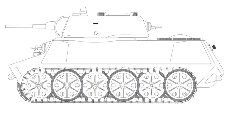 Советский танк МТ-25 Mt25s016
