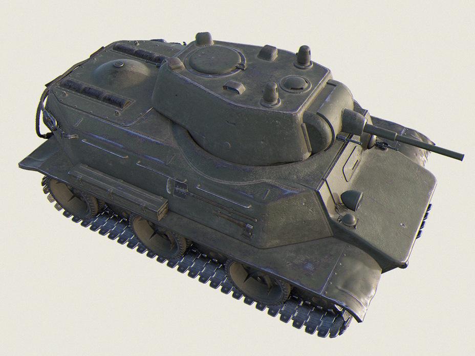 Советский танк МТ-25 Mt25s017
