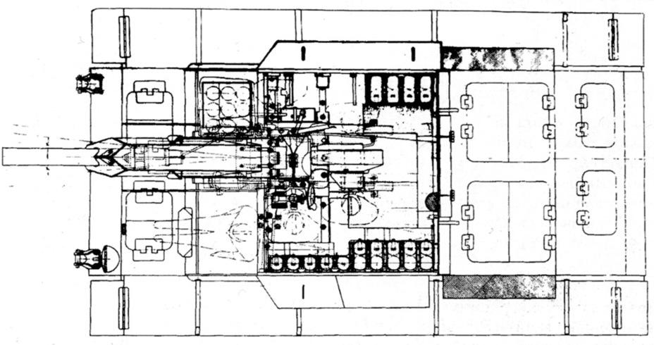 СГ-122 штурмовое орудие на трофейной базе Sg122s18