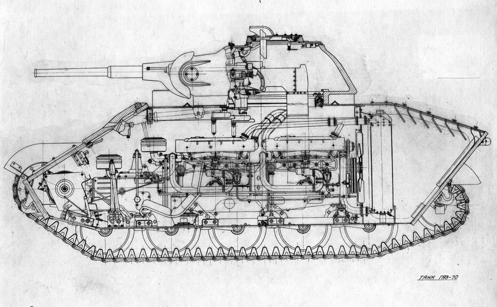 Т-70 с литой башней! T70dev14