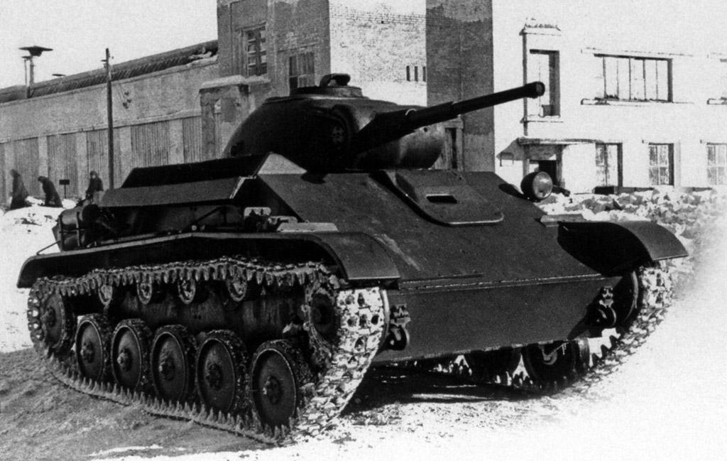 Т-70 с литой башней! T70dev15