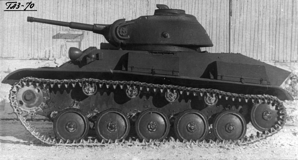 Т-70 с литой башней! T70dev16