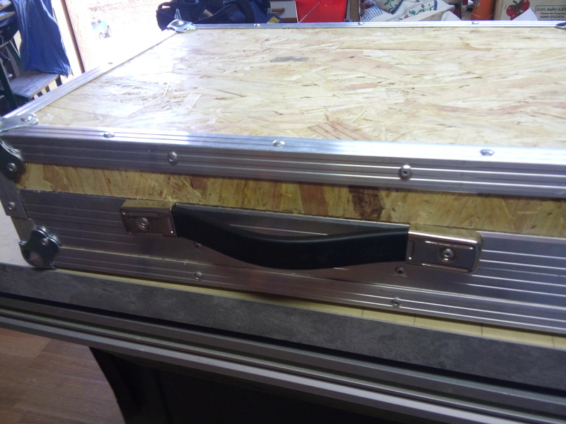 Flight case pour pédales guitare Flight27