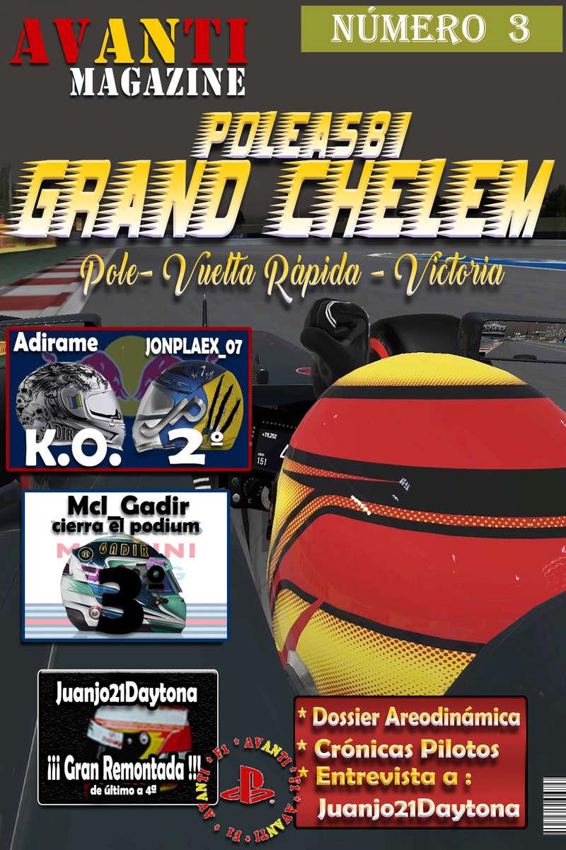 MAGAZINE F1 AVANTI. NÚMERO 3 (01/11/2016) 01_por15