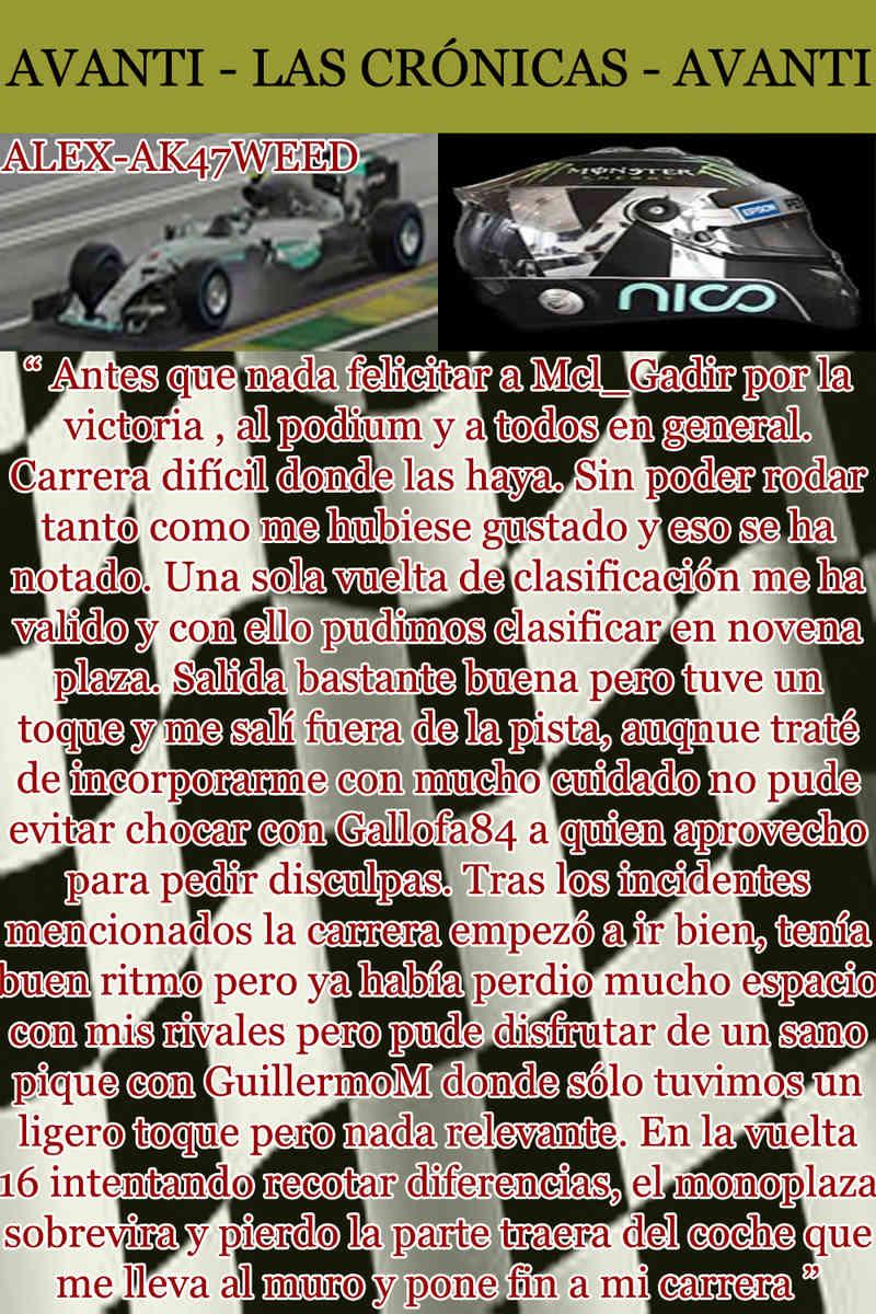 MAGAZINE F1 AVANTI. NÚMERO 2 (22/10/2016) 35_hoj10