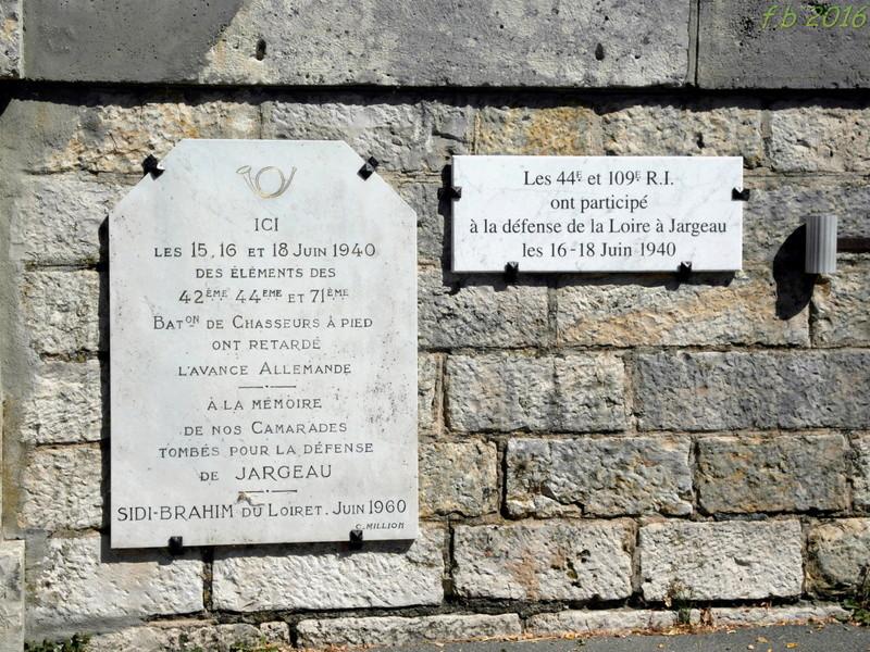 JARGEAU, Les combats des 15, 16 et 18 Juin 1940 Jargea10