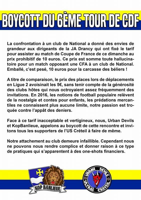 [Coupe de France, 6ème tour]: J.A Drancy - US Créteil - Page 2 Commun10